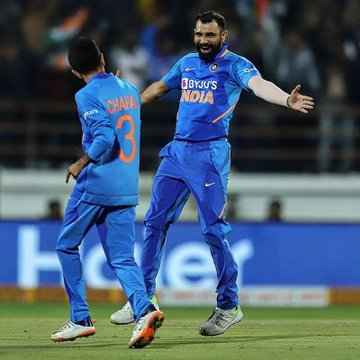 Mohammad Shami and 3 Indian players to play for Asia XI, BCCI sent names