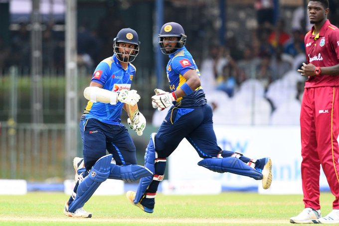 Sri Lanka's thrilling victory, Windies lost by 1 wicket